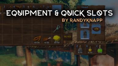 Equipment and Quick Slots - Снаряжение и быстрые слоты