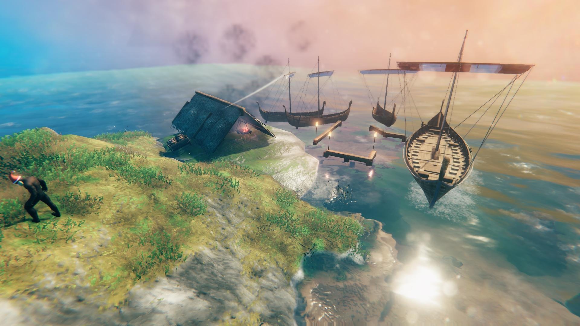 Valheim - как построить корабль и собственный флот