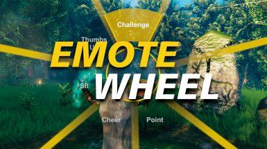 Emote Wheel - Колесо эмоций
