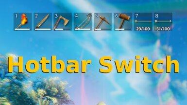 Hotbar Switch - Переключатель панели быстрого доступа