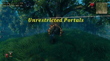 Unrestricted Portals - Неограниченные порталы