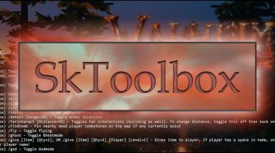 SkToolbox - Расширение функциональности консоли и чата