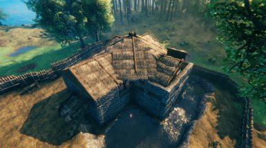 Valheim - как построить каменный дом и укрепления