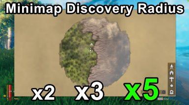 Bigger Minimap Discovery Radius - Увеличенный радиус обнаружения миникарты