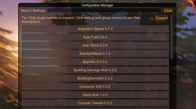 Valheim Configuration Manager