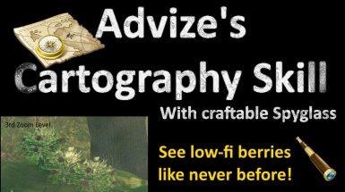 Cartography Skill and Spyglass - Навык картографии и подзорная труба