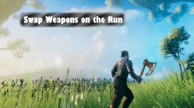 Swap Weapons on the Run - Смена оружия на бегу