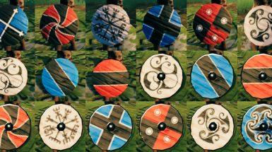 More Round Shield Paints - Другие краски для круглых щитов